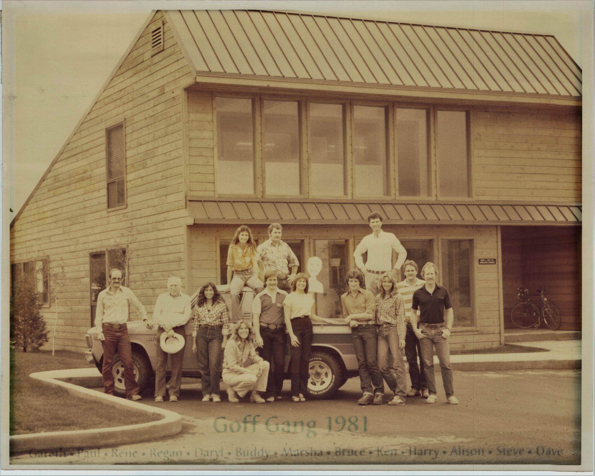 1981 Goff Gang