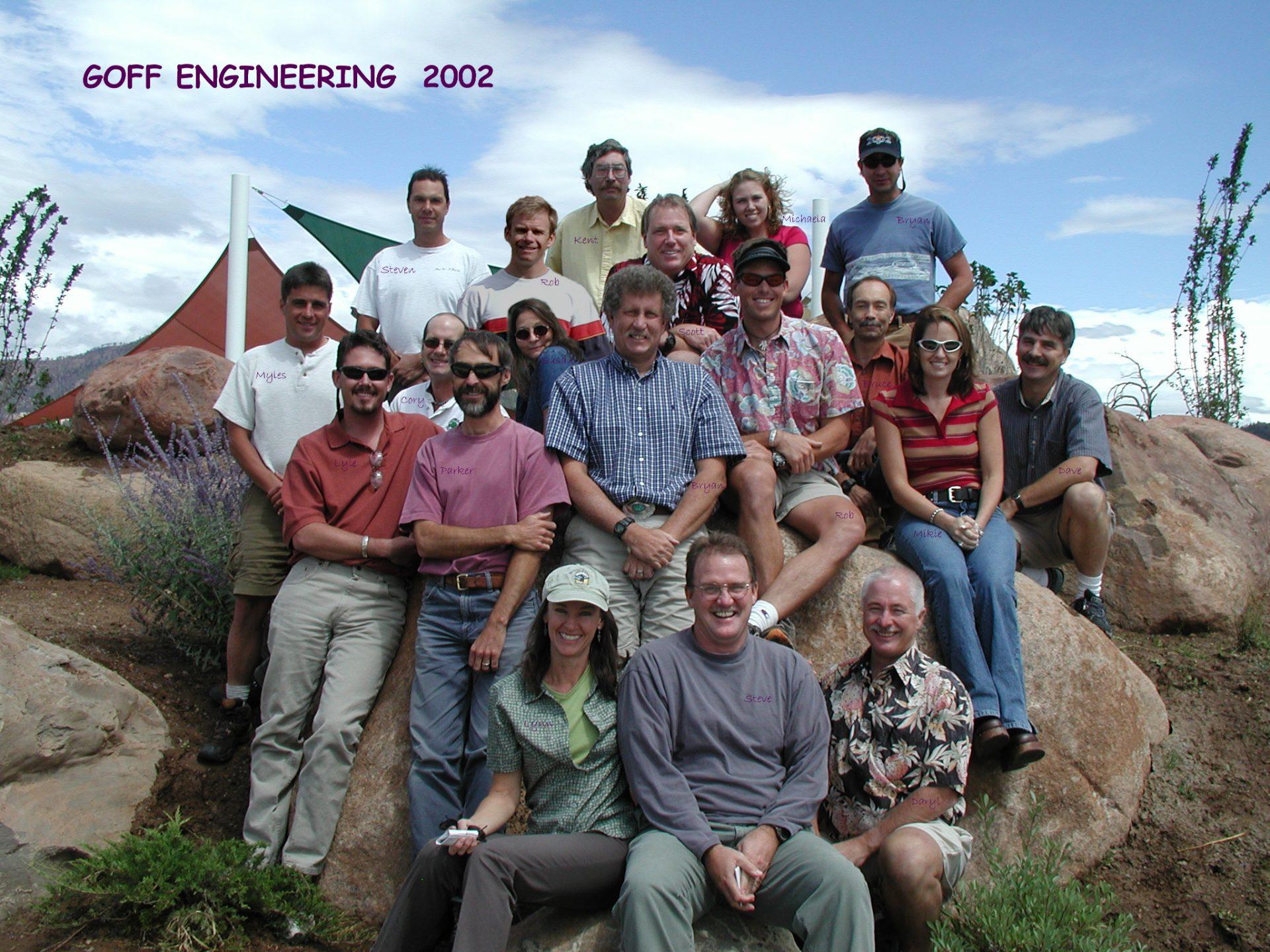2002 Goff Gang
