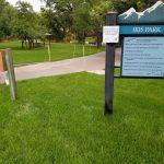 Iris Park Entrance